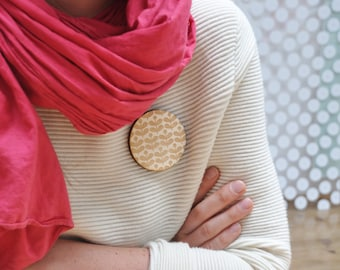 PIN wooden patterned