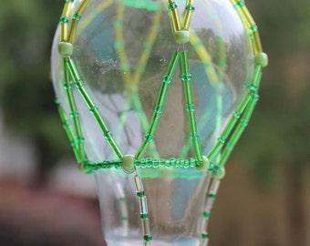 Hot air balloon Lightbulb Ornament