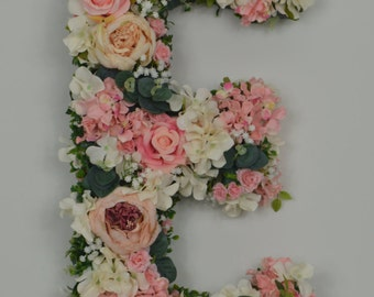 Giant Flower Letter