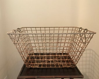 Rustic Oyster basket from south of France