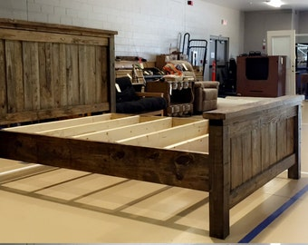 Farmhouse Rustic Bed