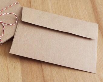 Envelope C6 kraft paper