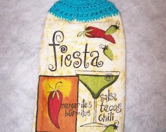 Hanging Fiesta Kitchen Towel