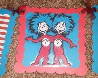 Dr. Seuss Highchair Banner