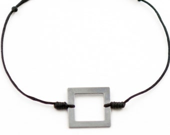 Bracelet polygon square Gun