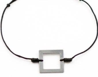 Bracelet polygon square Gun