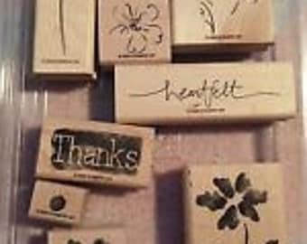 "Stampin' Up! ""Heartfelt Thanks"" Stamp Set"