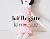 Kit couture doudou doll - Brigitte