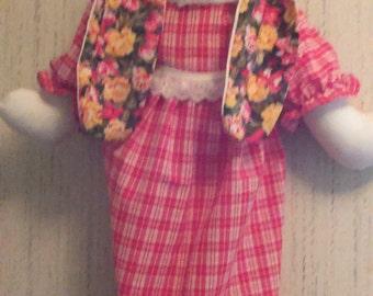 Flower Bunny Bag Holder