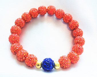 Pave Disco, Orange and Blue
