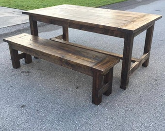 Farmhouse Bench (Local Pick up/Delivery Only!)