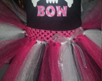 Bad to the Bone tutu set
