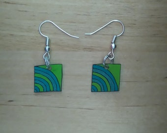 Abstract earrings 5