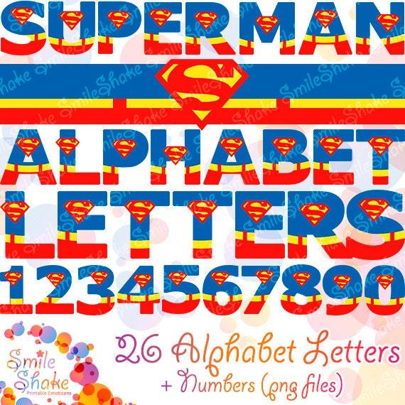 superman alphabet template - 28 images - superman letters images ...