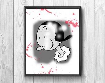 Olivia the popeye girlfriend, wall poster, cartoon.for children to brighten up their room