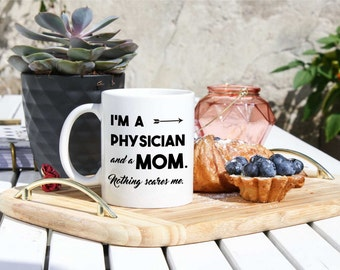 Doctor Coffee Mug - Maternity Leave Gift For Doctor - Gift For Expecting Physician - New Mom Doctor Nurse Gift - Funny Doctor Cup - Coworker