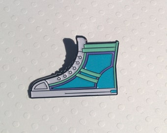 Sneaker Enamel Pin, Lapel Pin