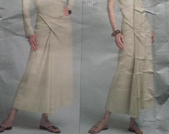 Vogue 2814 Issey Miyake Top and Skirt Sewing Pattern 18-22