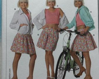 Burda 7789 Skirt, Tank Top and Jacket Sewing Pattern 8-20