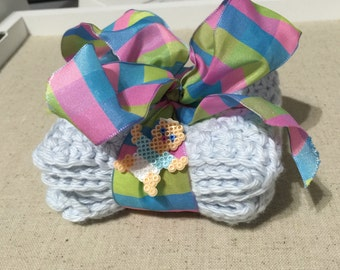 Baby washcloths (Set of 2)