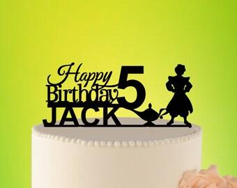 Alladin Birthday Cake topper Baby, Birthday cake topper Alladin Birthday Topper baby Disney cake Decor Baby Cake Invitation Disney L2-01-006