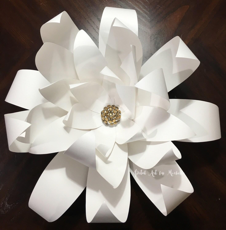 Giant Paper Flower Flower Wall Decor Home Decor Wedding Centerpiece