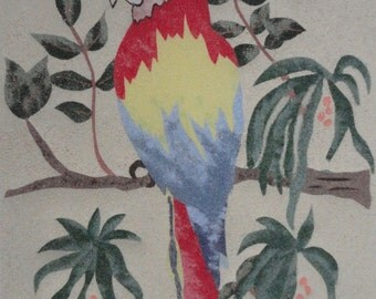 Displays sand-Parrot