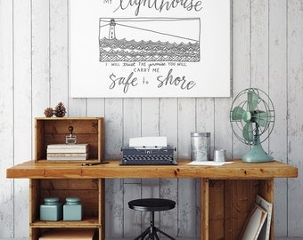 INSTANT DOWNLOAD: My Lighthouse ~ 6 colors INCLUDED!