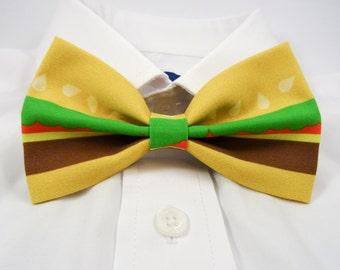 Burger Bow Tie, Cheeseburger Bow Tie