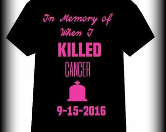 Cancer Shirt, Cancer Awareness, Breast Cancer, Breast Cancer shirt, Leukemia, Walk for a cure, Fight for a Cure, S, M, L, XL