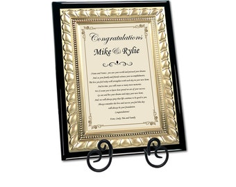 Traditional Housewarming Best Wishes Plaque New Homeowner Gifts Poetry Personalized House Present New Home Poem Couple