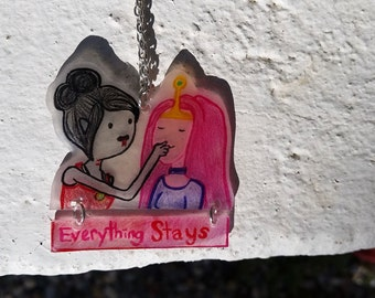 Everything Stays Adventure Time Necklace