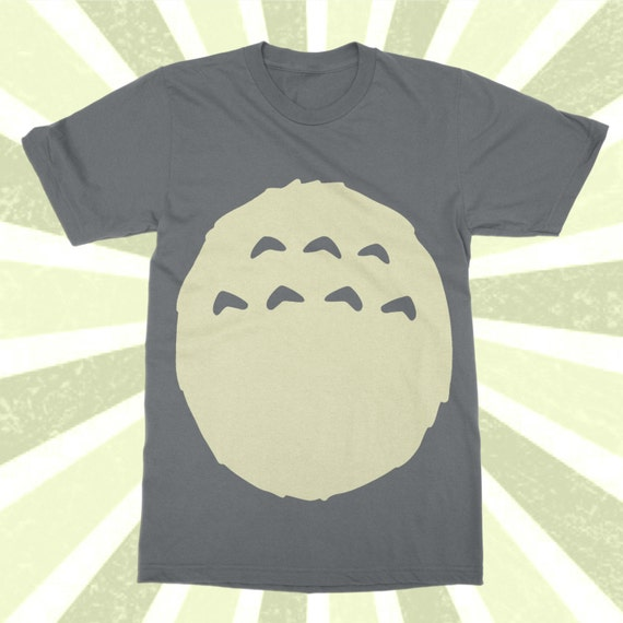 Studio Ghibli Totoro Shirt TOTORO Costume t-shirt Kawaii