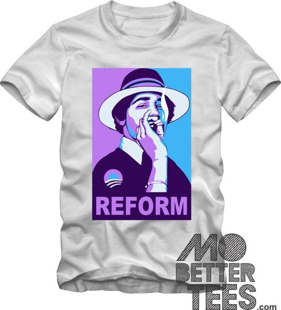 Barack Obama T-Shirt Reform Weed Changed My Life