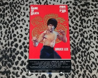 Game of Death [VHS] Bruce Lee Kung Fu Movie Vhs 80s Martial Arts Film Action Classic Vhs