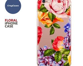 roses iphone case, Floral iPhone 7 Case, Floral iPhone 7 plus Case, Floral iPhone 6s Case (Shipped From UK)