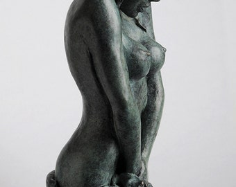 "Bronze sculpture ""Shinya"""