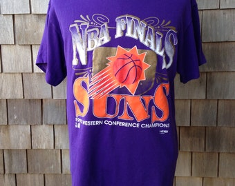 Vintage 1993 PHOENIX SUNS NBA Finals T Shirt - Large