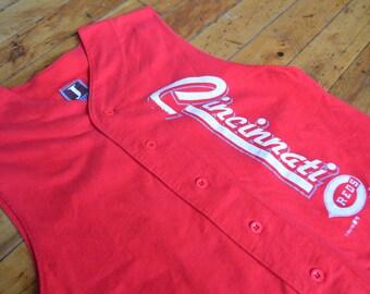 Vintage 1993 Cincinnati Reds Sleeveless Jersey