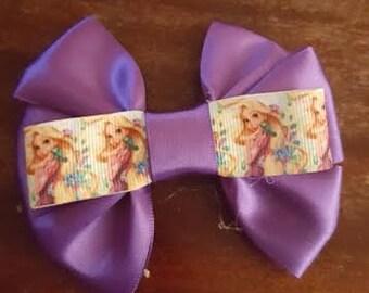 Rapunzel Inspired Hair Bow.