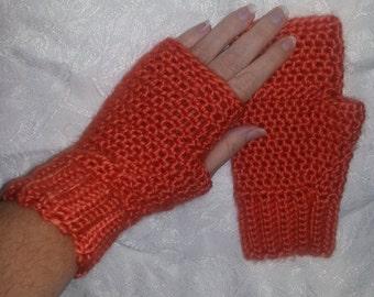 Fingerless gloves, wool blend, fingerless mittens, driving gloves, driving mittens, texting, texting mittens, typing gloves, typing mittens