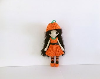 Billie pumpkin doll