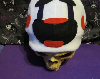 Puppet Inspired Costume Hat beanie FNAF