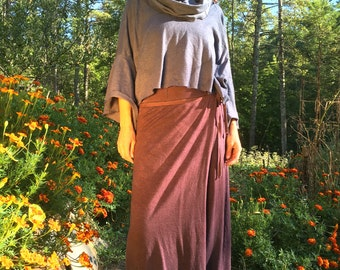 FALL SAMPLE SALE The Lhasa Pant in Organic Hemp Cotton. Ready to ship. Size small in color Brazilnut.