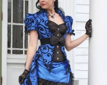 Sapphire Dreams - Gothic Victorian Wedding Gown