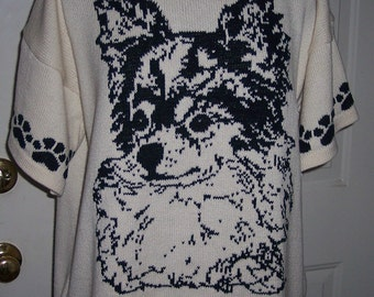 Custom Knit Long Hair Chihuahua Sweater ****Create your own sweater see below*****