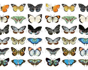 Butterfly Decals Water-Slide Decals, Decorate Flame-less Candles, Soap, Glass, Home Decor, Magnets, Jewelry, Craft Projects, Scrapbooks