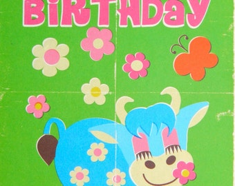 Happy Birthday A6 Greeting Card - Happy Nestor