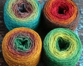 Pure wool knitting yarn - 4 x 50 g