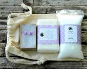 Lavender Bridesmaid Gift . Bridesmaid Spa Gift . Lavender Spa Gift Set . Maid of Honor Gift . Mother of the Bride . Lavender Bridesmaid Gift
